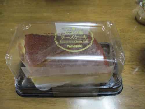 ヤマザキ バスクチーズケーキ